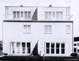 Hugo Gorge: Casas 43 y 44. Woinovichgasse 1 - 3
