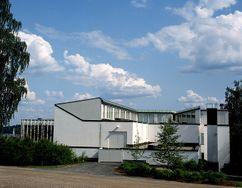 Museo de Finlandia central, Jyväskylä (1960-1962)