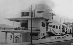 Club Marimbás, Río de Janeira, (1932), junto con Gregori Warchavchik