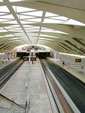 estación de metro, Valencia, España. (1991-1995)