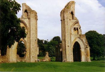 Las ruinas de la abadía.