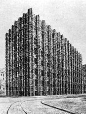 Proyecto para Banco en Dresde (1921)