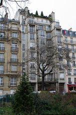 Apartamentos en Franklin 25 bis, París (1902-1904)