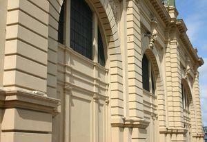 Fachada restaurada del Mercado Municipal de São Paulo