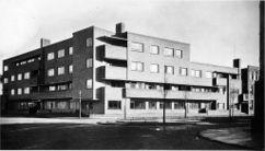 Viviendas en Jozef Israëlsplein, La Haya (1925-1926)