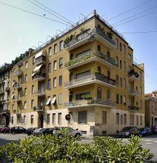 Domus Flavia, Milán (1933-1934)