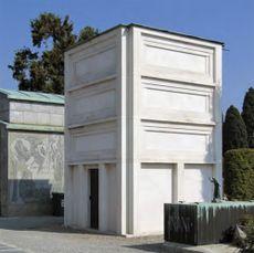 Capilla Traversi, Cementerio Monumental, Bérgamo (1950)