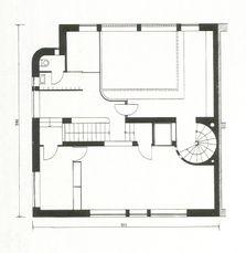 Bohuslav Fuchs.Casa propia.Planos2.jpg