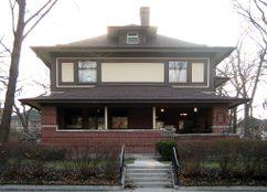 Casa William y Jessie M. Adams, Chicago (1900-1901)