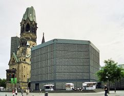 Iglesia memorial Kaiser Wilhelm, Berlín (1959-1963)