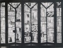 Vidrieras de Josef Albers