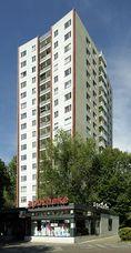 Edifico de viviendas en Bartningallee 5, Berlín (1954-1958)