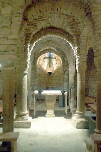 Cripta de Sant Esteve d'Olius