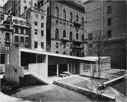 Casa en el jardín del MoMA, Nueva York (1949)