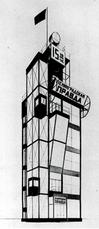 A+V:Boceto para el Leningrad Pravda (1924)