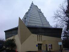 Frank Lloyd Wright - Beth Sholom Synagogue 4.JPG
