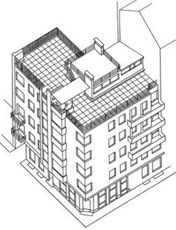 Moisei Ginzburg.Apartamentos Gosstrakh.Planos1.jpg