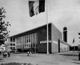 Pabellón Belga, Exposición Universal de Nueva York (1939), junto con Henry van de Velde y Victor Bourgeois.