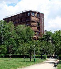 Viviendas en Andrea Massena, Milán (1959-1963)