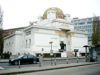 Pabellón de exposiciones de la Secesión vienesa