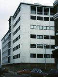 Firma Gilbey, Camden Town, Londres (1935-1936). En colaboración con Serge Chermayeff.