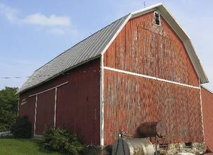 Un galpón en Wisconsin