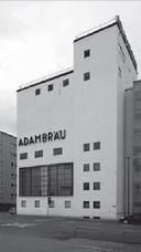 Sala de cocción de Adambräu en Innsbruck (1926-1927)