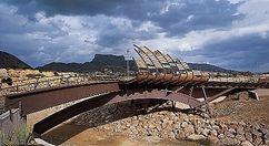 Pasarela peatonal, Petrel (1991-1999)