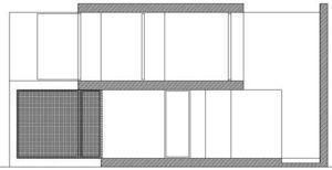 sección transversal 1