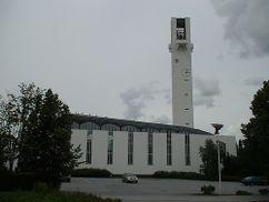 Iglesia Lakeuden Risti, Seinäjoki (1957-1960)