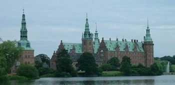El castillo de Frederiksborg