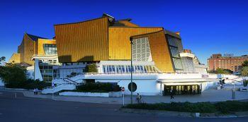 Exterior de la Berliner Philharmonie.