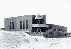 Central Térmica de la Ciudad Universitaria de Madrid (1932) con Eduardo Torroja