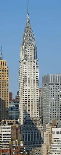 Edificio Chrysler, Nueva York.