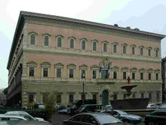 Obras en el Palacio Farnesio, Roma (1575- )