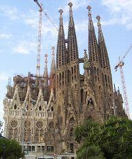 Templo Expiatorio de la Sagrada Familia, Barcelona (1882- )