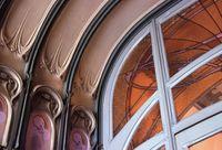 Hector Guimard - El pasillo de entrada de la casa Coilliot - 1898