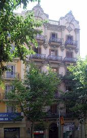 Casa Francesc Paixà, Mallorca 180, Barcelona (1902)