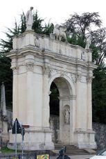 Arco delle Scalette, Vicenza (1576-1595)