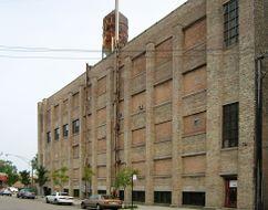 Factoría de pulidos E-Z para William E. y Darwin D. Martin, Chicago, EE. UU.(1905)