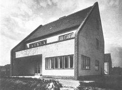 tres Viviendas en Gaghfasiedlung, Berlín (1928)
