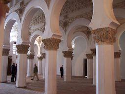 Nave & columns, Toledo synagogue, Spain, ZM (42).JPG