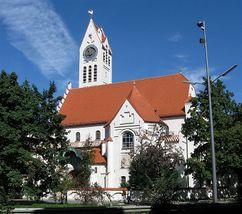 Iglesia Evangélica del Redentor de la Münchner Freiheit (1899-1901)