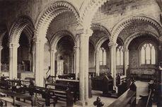 La Capilla Galilea en 1890.