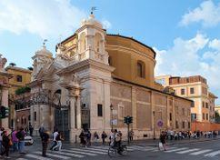 Iglesia de Santa Ana de los Palafreneros, Ciudad del Vaticano (1570)