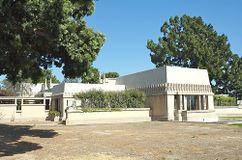 Casa Barnsdall, Olive Hill, Los Ángeles, EE. UU.(1919-1921)