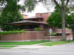 Casa Frederick C. Robie, Chicago, EE. UU.(1906-1909)