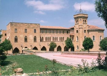Vista general del actual Santuario de Nuestra Señora de La Estrella (San Asensio, España)