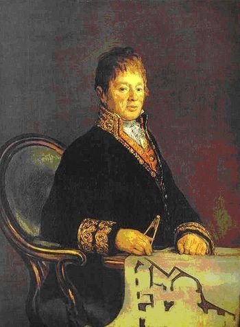 retrato realizado por Fco. de Goya