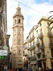 Plaza de santa Catalina con la torre